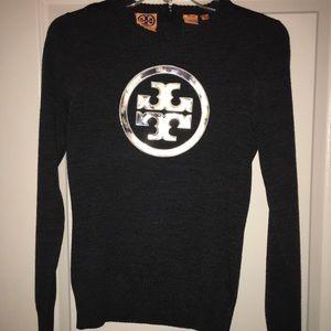 Tory Burch Sweaters - Tory Burch Gray Sweater